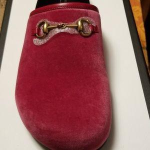 Gucci horsebit clogs